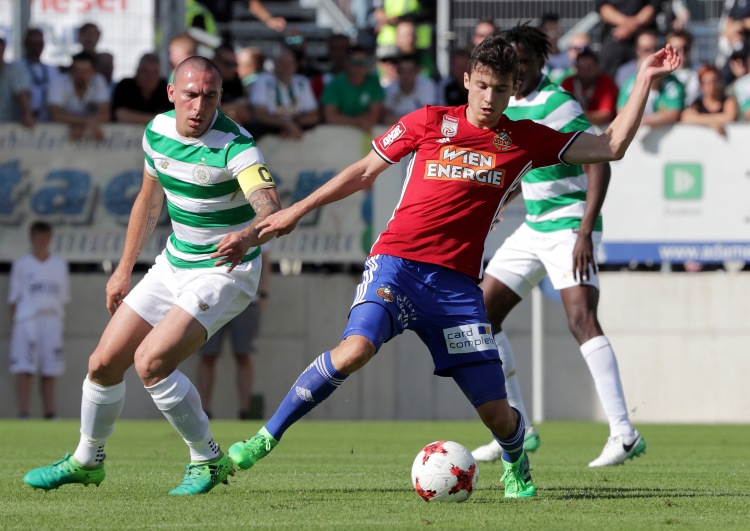 SOCCER - Rapid vs Celtic, test match