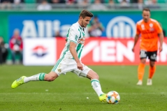 VIENNA,AUSTRIA,27.APR.19 - SOCCER - tipico Bundesliga, qualification group, SK Rapid Wien vs TSV Hartberg. Image shows Maximilian Hofmann (Rapid). Keywords: Wien Energie. Photo: GEPA pictures/ Philipp Brem