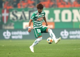 VIENNA,AUSTRIA,24.AUG.19 - SOCCER - tipico Bundesliga, SK Rapid Wien vs Linzer ASK. Image shows Koya Kitagawa (Rapid). Keywords: Wien Energie. Photo: GEPA pictures/ Christian Ort